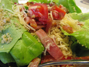 Bacn, Lettuce, and Tomato Salad